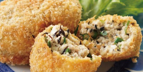 豆腐コロッケアップ
